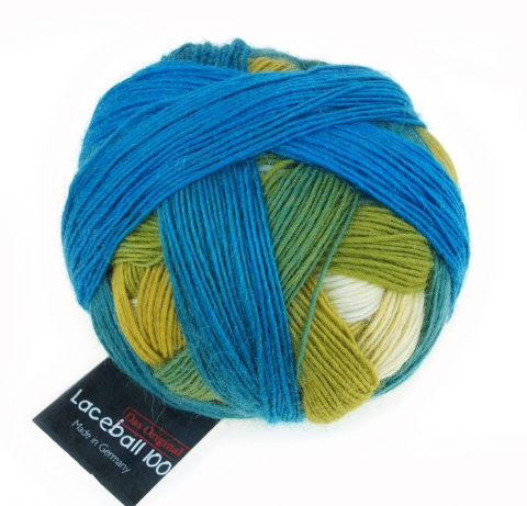 Schoppel-Wolle LACE BALL 100 blue lagoon 2309